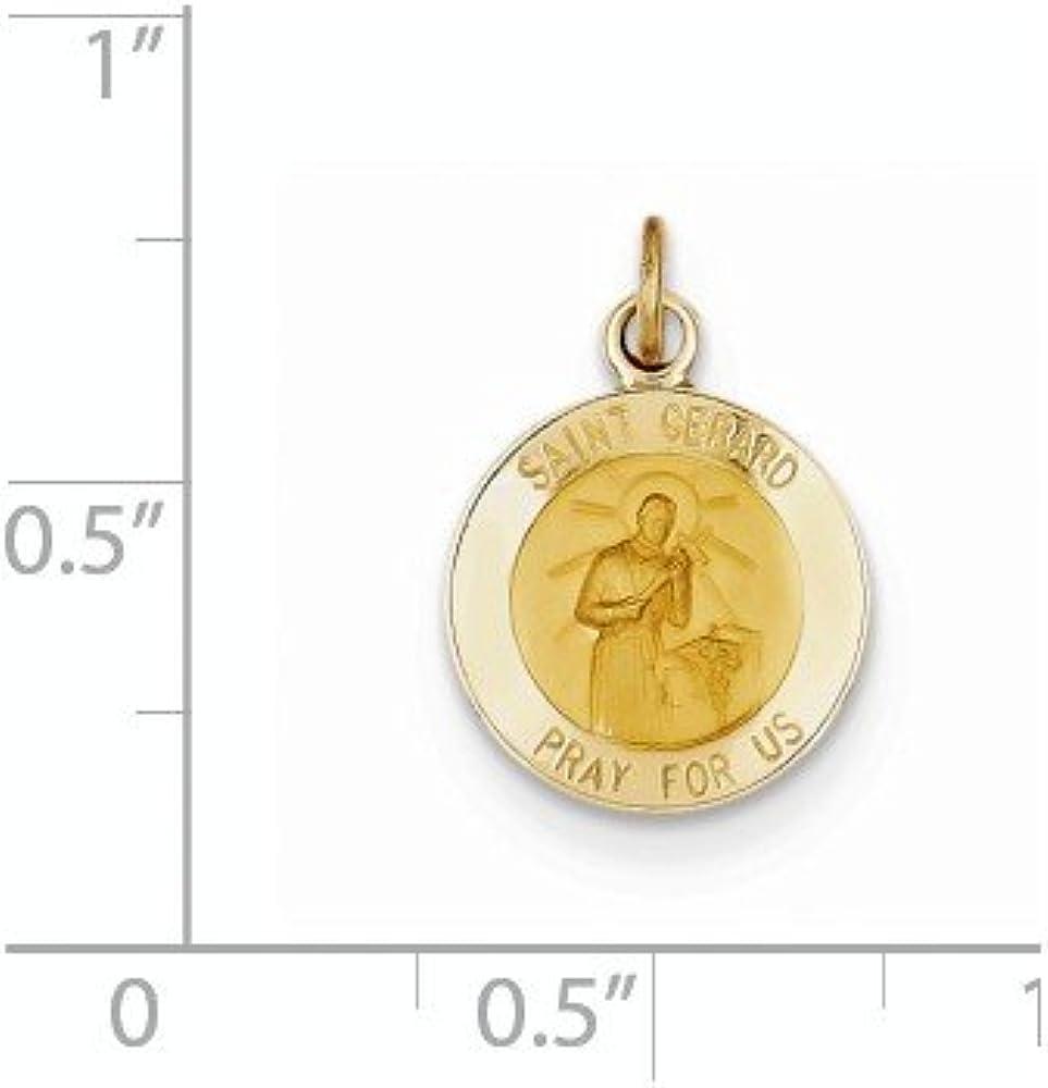 Gerard Medal Charm Pendant MSRP $54 .925 Sterling Silver Antiqued St