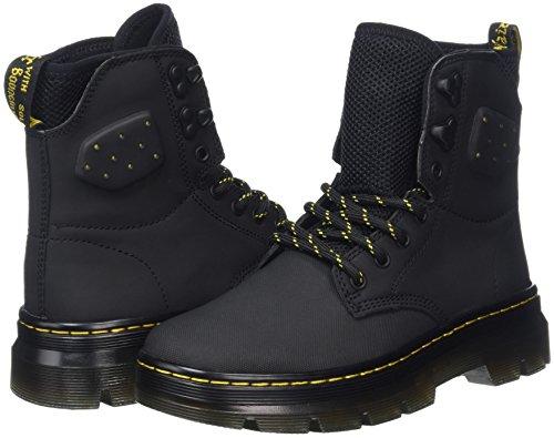 synthetic Quinton black Dr Bottes Adulte Nubuck Ajax Noir Mixte Black Martens n6U5v1UI