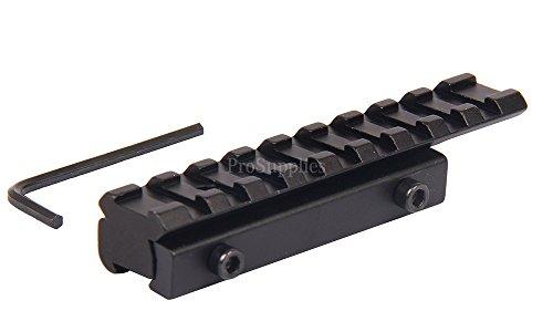 Horton Aluminum Bases - TACFUN Scope Adapter Rail Mount 22 Crossbow 3/8