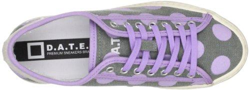 scarpe donna D.A.T.E. ( date ) sneakers grigio viola tessuto AP561