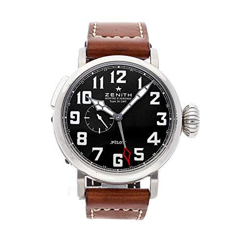 Zenith Elite Pilot Automatic Black Dial Men's Watch 03.2430.693/21.C723
