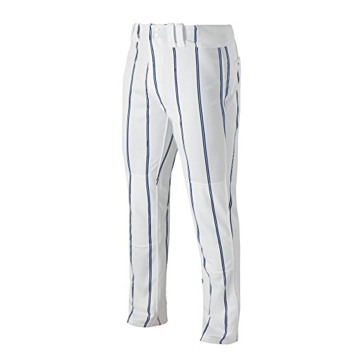 Mizuno 350525.0051.06.L Pro Pinstripe Pant L White-Navy