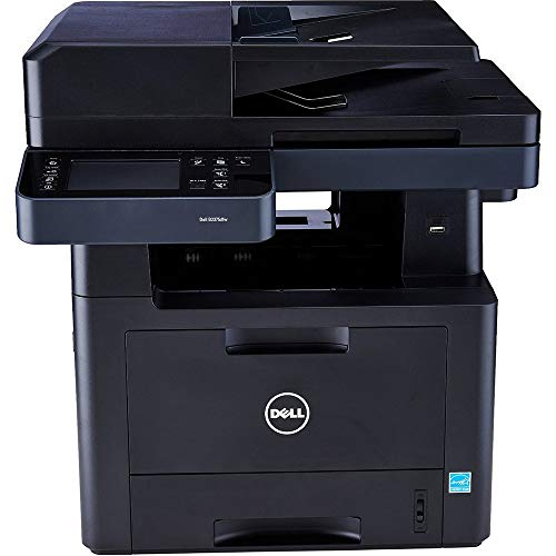 Dell Computer B2375dnf Monochrome Printer with Scanner, Copier & Fax (Renewed) (Dell Laser Copiers)