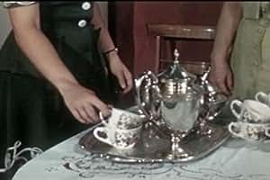 How to Set a Table for a Tea Party: Arranging the Tea Table (1946) [DVD] - Vintage Social Etiquette, Tea Party Tablescape & Floral Arrangements for Tea Parties