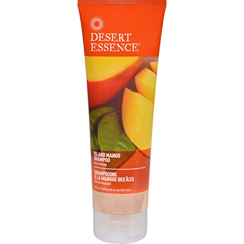 Desert Essence Hair Care Island Mango Shampoo 8 fl. oz. - 2pc ()