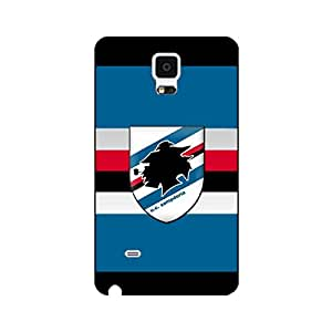 Unione Calcio Sampdoria Phone Case,Official Popular Serie A UC Sampdoria Team Logo Custom Painted Case for Samsung Galaxy Note 4