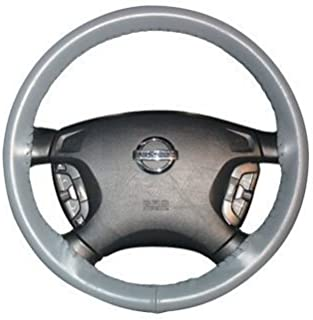 product image for Wheelskins | C12-grey | 2006 - 2015 | Honda Ridgeline | Wheelskins Leather Steering Wheel Cover | Grey
