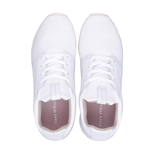 Low Marc Top O'Polo White Women's qqEZwrO