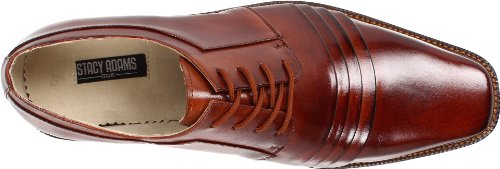Stacy Adams Mens Raynor Oxford Cognac