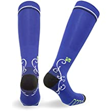 Vitalsox Italian Graduated Compression Socks (1 pair- fitted) for Women Best For Running, Travel, Yoga, Nurses, Maternity Pregnancy