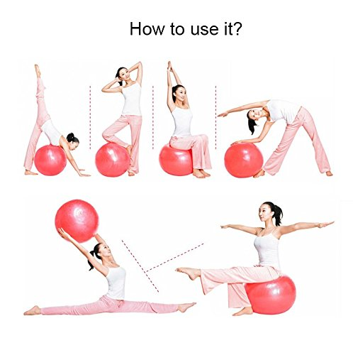 Eco-friendly Anti-burst PVC Gym Exercise Fitness Custom Yoga Ball