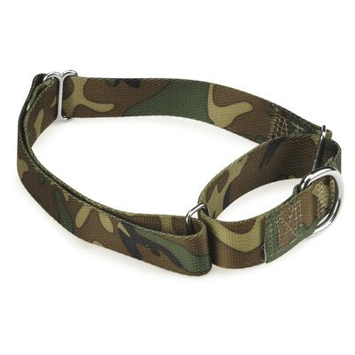 Guardian Gear ZW0716 18 43 Camo Martingale Collar for Dogs, 18 to 26 -Inch, Green