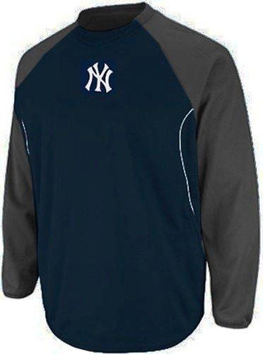 New York Yankees MLB Majestic Authentic Therma Base Tech Fleece Size 4XT (Therma Fleece Athletic Base Majestic)