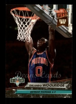 1992 Fleer Ultra # 220 Jam Sessions Orlando Woolridge Detroit Pistons (Basketball Card) Dean's Cards 8 - NM/MT Pistons