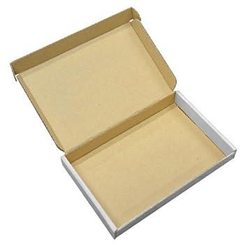 Blanco C6 A6 tamaño letra Pip tamaño fuerte envío cartón Cajas de correo Postal 40 unidades: Amazon.es: Oficina y papelería