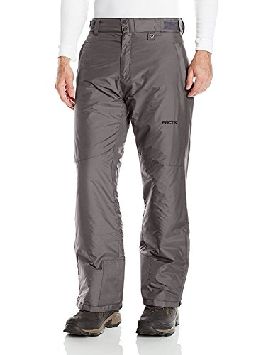 Tundra Gaiter - Arctix Men's Overalls Tundra Bib With Added Visibility (X-Large/Short, Charcoal)