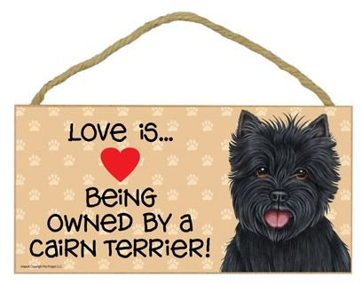 Love is Being Owned by a Cairn Terrier (black) - 5