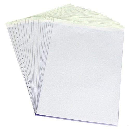 PFT Transfer Stencil Paper 15 Sheets by Pirate Face Tattoo