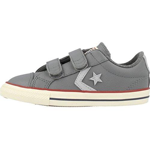 Converse Zapatillas Niños Star Player Ev 2V EN Cuero Gris Oscuro 758156C gris