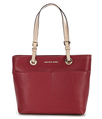 MICHAEL Michael Kors Bedford Leather Tote (Mulberry) by Michael Kors