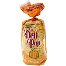 Kim's Deli Pop Pumpkin Flavor 12-Pack: Freshly Popped Rice Cakes, Healthy Grain Snack, 0 Weight Watchers Point