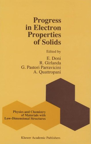 Progress in Electron Properties of Solids: Festschrift in honour of Franco Bassani (Physics and Chemistry of Materials w