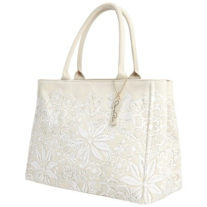 Oscar de la Renta Coated Canvas Tote - Coated Canvas