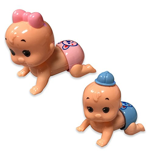 Kipp Brothers Wind-Up Crawling Babies (Per Dozen)