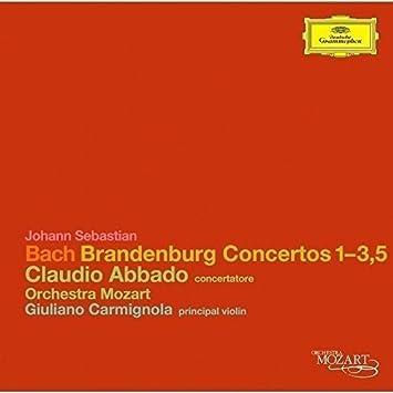 バッハ:ブランデンブルク協奏曲第1番~第3番、第5番
