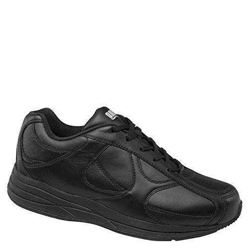 Drew Schuh Männer Surge Athletic Walking Shoe Schwarzes Kalb