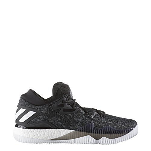Adidas Mannen Crazylight Boost Laag Zwart-wit