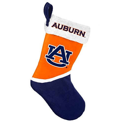 2015 NCAA College Team Logo Basic Holiday Stocking - Pick Team (Auburn Tigers) by Forever Collectibles