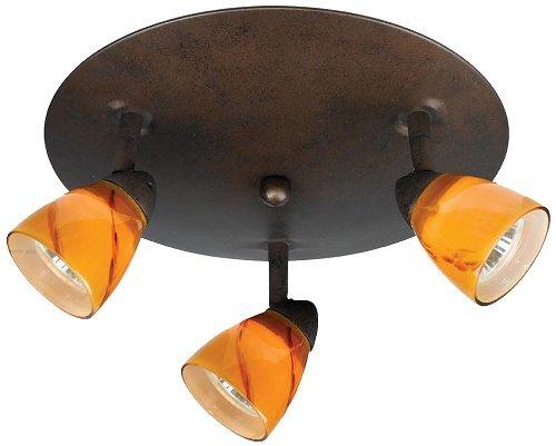Cal Lighting SL-954-3R-BK/LA Spot Light with