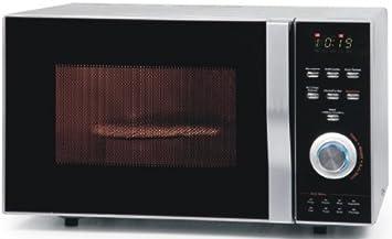 Combinación de horno microondas con función de volumen de 23 l – Microondas con grill y
