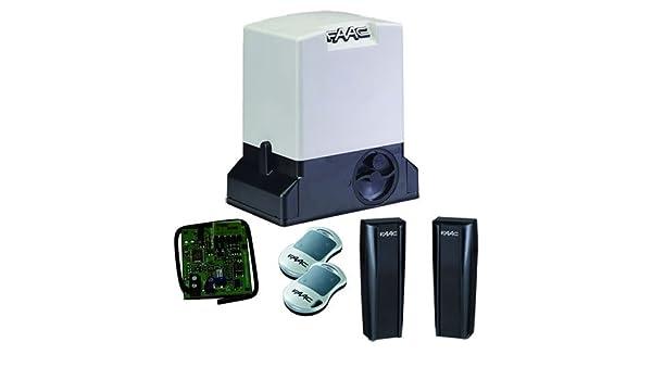 FAAC 741 230 V puerta corredera operador Kit: Amazon.es: Hogar