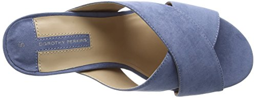 Dorothy Perkins Sam Cross Over - Zapatos Mujer Azul (Blue)