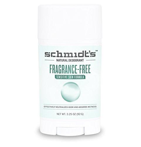 Schmidt's Natural DeodorantTM - Fragrance-Free Sensitive Skin Stick 3.25 oz - PACK OF 1