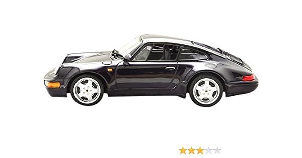 Minichamps 1:43 Escala 1993 Porsche 911 Turbo S 964 30 Años del coche (púrpura metálica): Amazon.es: Juguetes y juegos