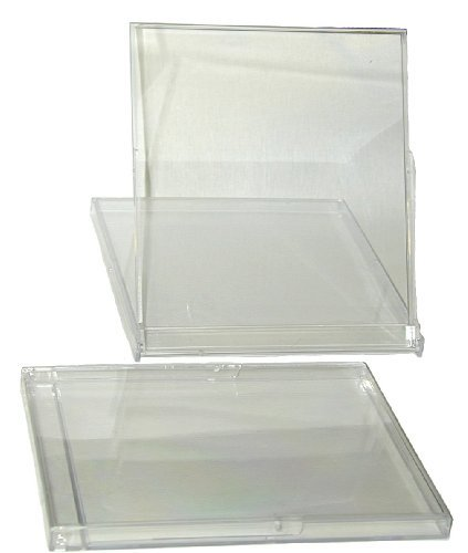 Price comparison product image MSBS10CA - Standard Empty Calendar Jewel Stand-Up Boxes - Clear - (100 Pack)