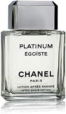 e30ce00cb9 Chanel Egoiste Platinum Homme After Shave Lotion, 100ml: Amazon.com ...