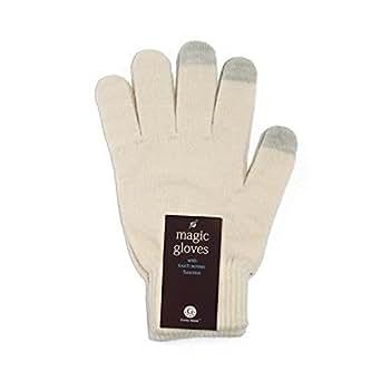 Unisex Touchscreen Warm Outdoor Winter Gloves ( White, One