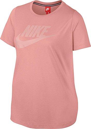 消毒剤アイロニー情熱的[ナイキ] レディース シャツ Nike Women's Plus Size Sportswear Essent [並行輸入品]