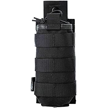 60836f91891 Tactical Universal Radio Carry Pouch Holder Holster Case Bag Military Molle  Radio Case for Baofeng Motorola Midland CB Walkie Talkies Compatible with  5.11 ...