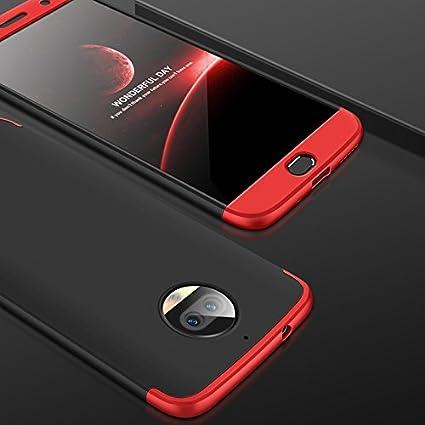 JMGoodstore Funda Compatible Moto G5S Plus,Carcasa Moto G5S ...