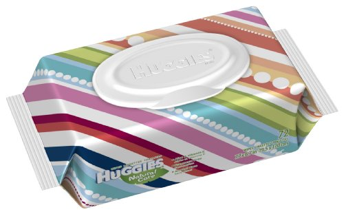 Huggies Natural Fragrance Wipes 72 Count