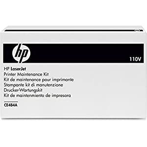 HP Color Laser Jet Fuser Kit 110V, Model CE484A in HP Retail Packaging