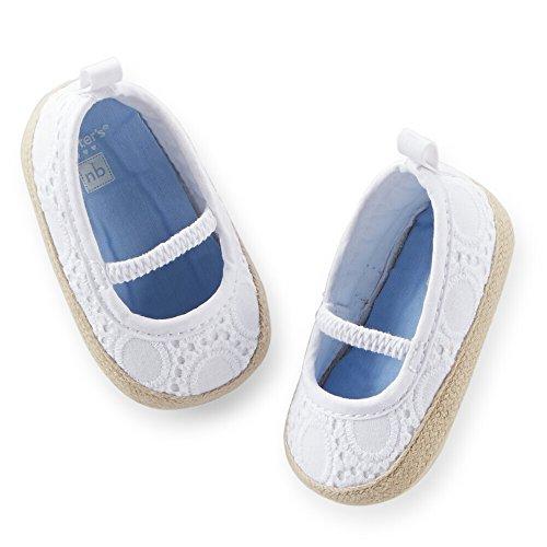 Carters Girls Eyelet Espadrille Shoes