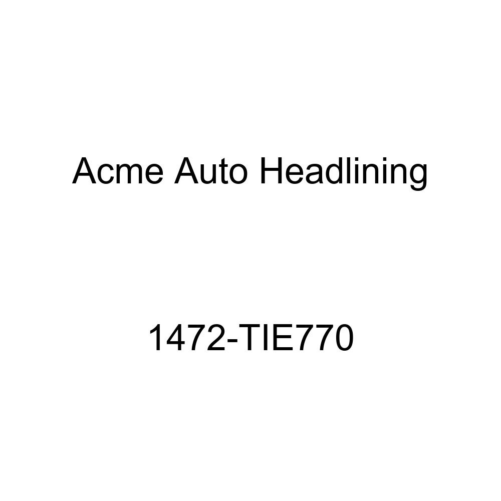 Acme Auto Headlining 1472-TIE770 Black Replacement Headliner 1957 Chevrolet Bel Air /&, Nomad 2 Door Wagon 6 Chrome Bows