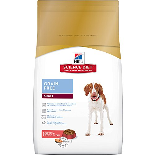 Hill'S Science Diet Adult Grain-Free Salmon Dry Dog Food, 21 Lb Bag