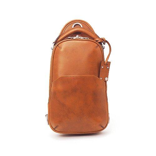 HERGOPOCH エルゴポック no.06 Waxed Leather ワキシングレザー ワンショルダー バッグ (06-OS) B008TN1BOYブラウン
